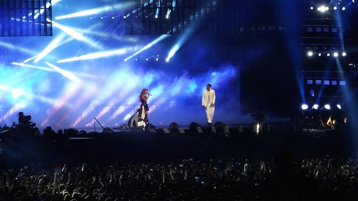 Jay Z Beyonce Paris 2