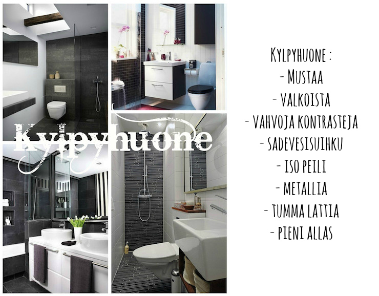Kylpyhuone inspiraatiota