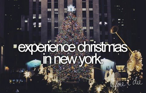Experience Christmas in New York