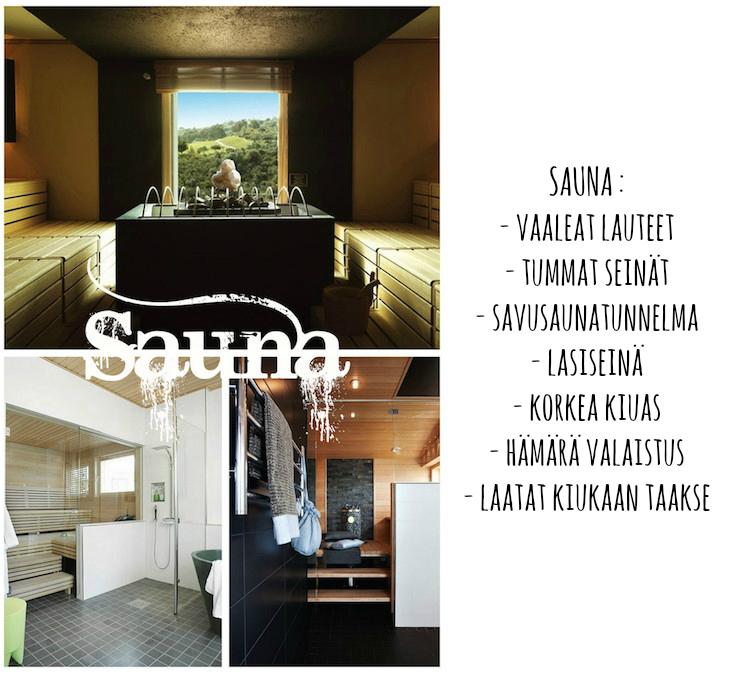 sauna INSPIRAATIOTA