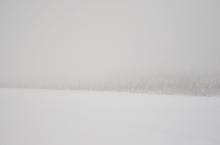 Nummelan lentokentta talvella