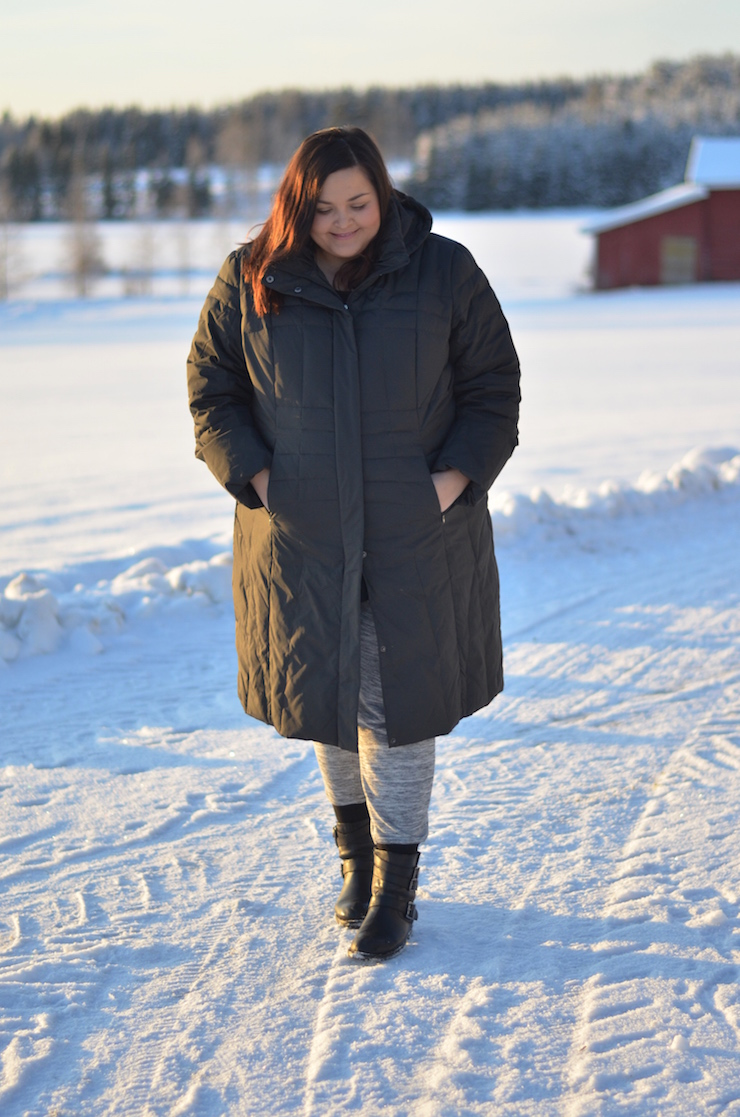 Calvin Klein Plus Size coat