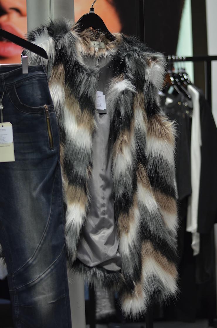 Zizzi Inspired By you Autumn 2015 fake fur jacket