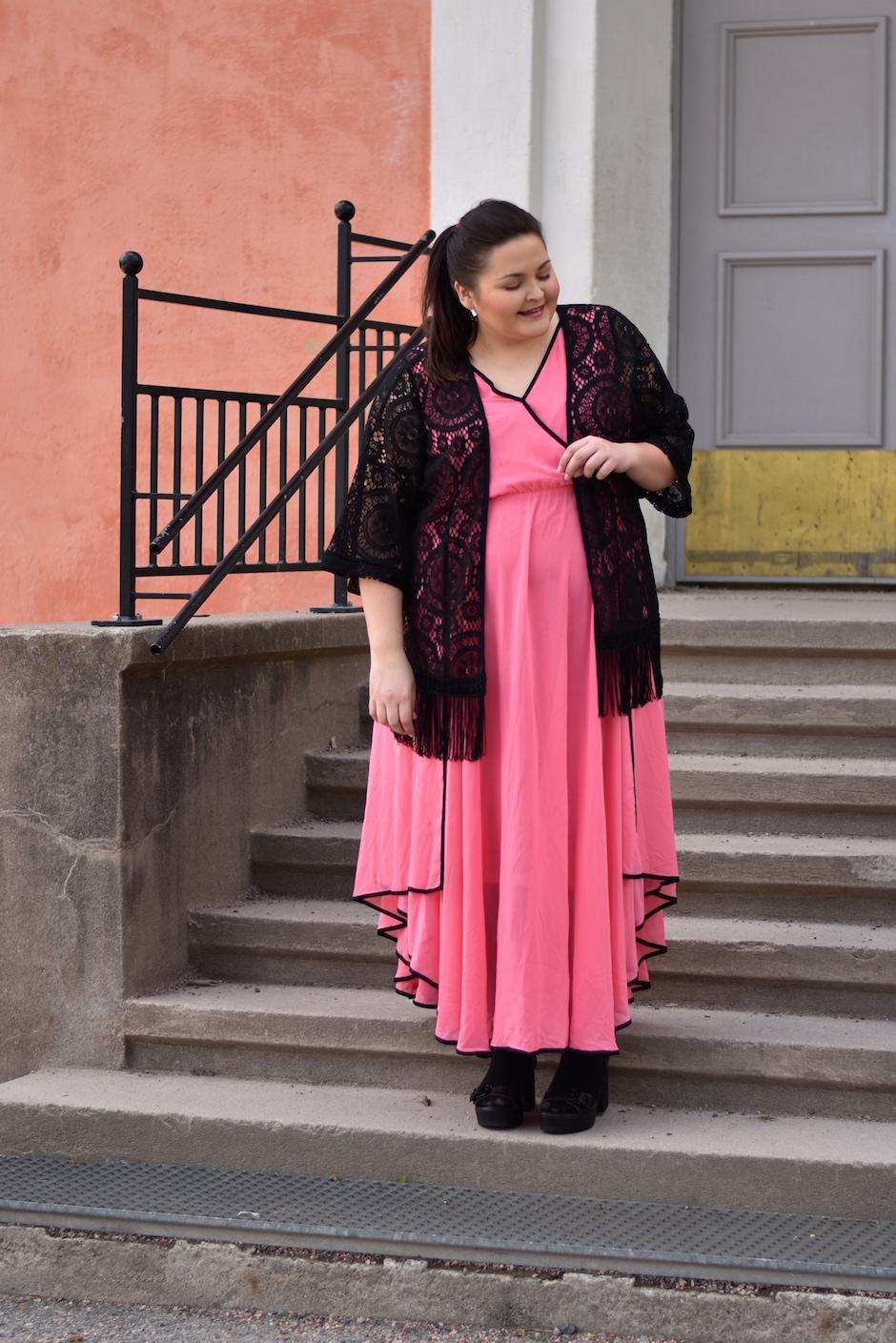 Zizzi Pink Dress DSC_0362
