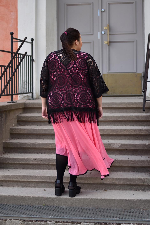 Zizzi Pink Dress DSC_0418