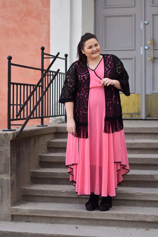Zizzi Pink Dress DSC_0425