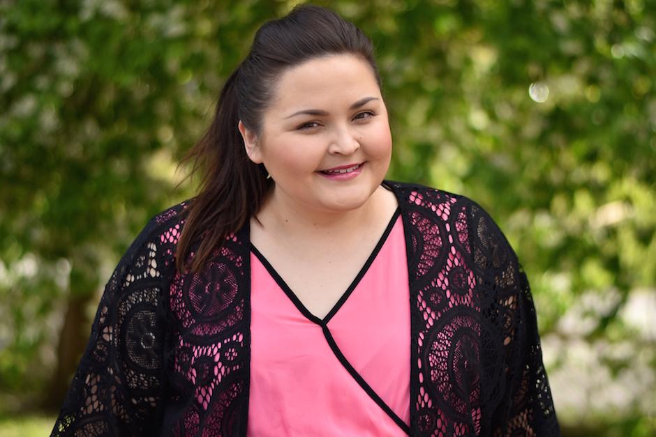 Zizzi Pink Dress DSC_0444