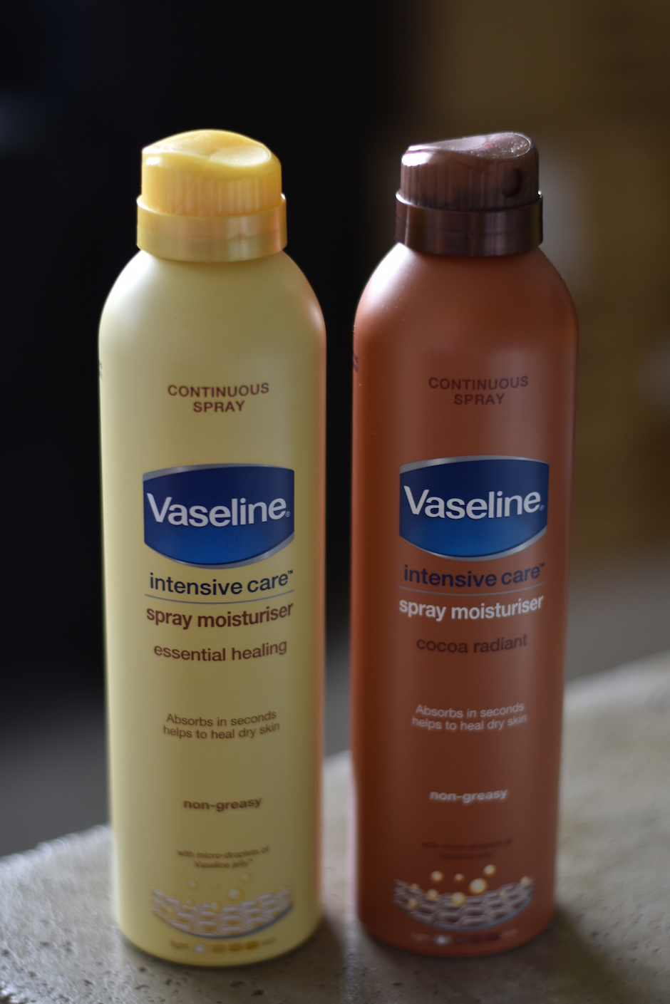 Vaseline Spray Moisturiser