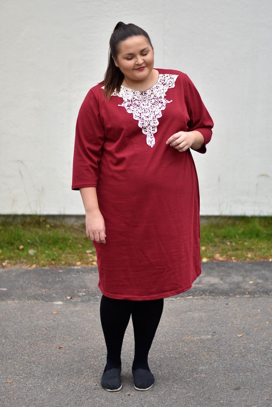 Lumoan Aura mekko plus koko 54 DSC_0604