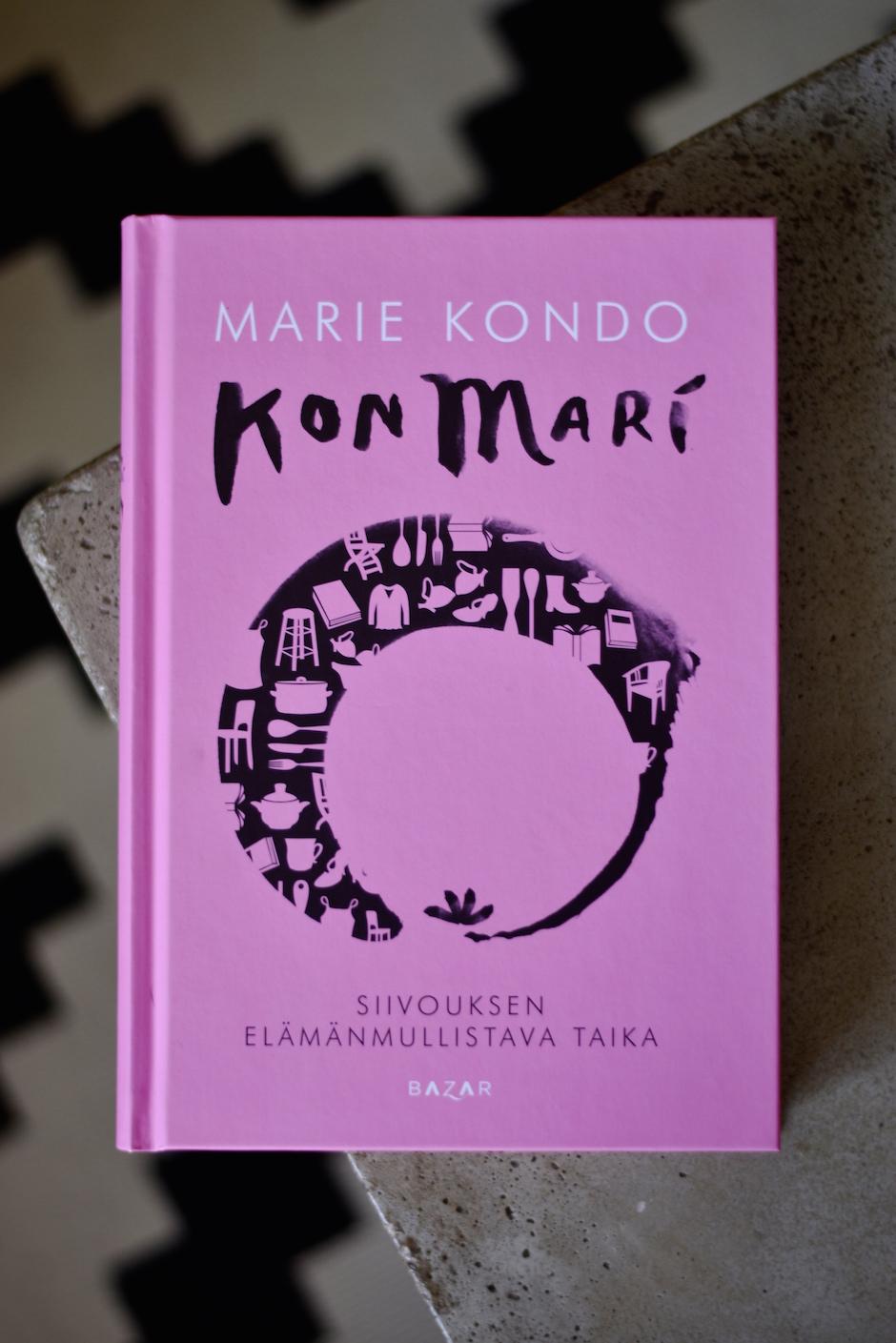 Marie Kondo KonMari siivouskirja