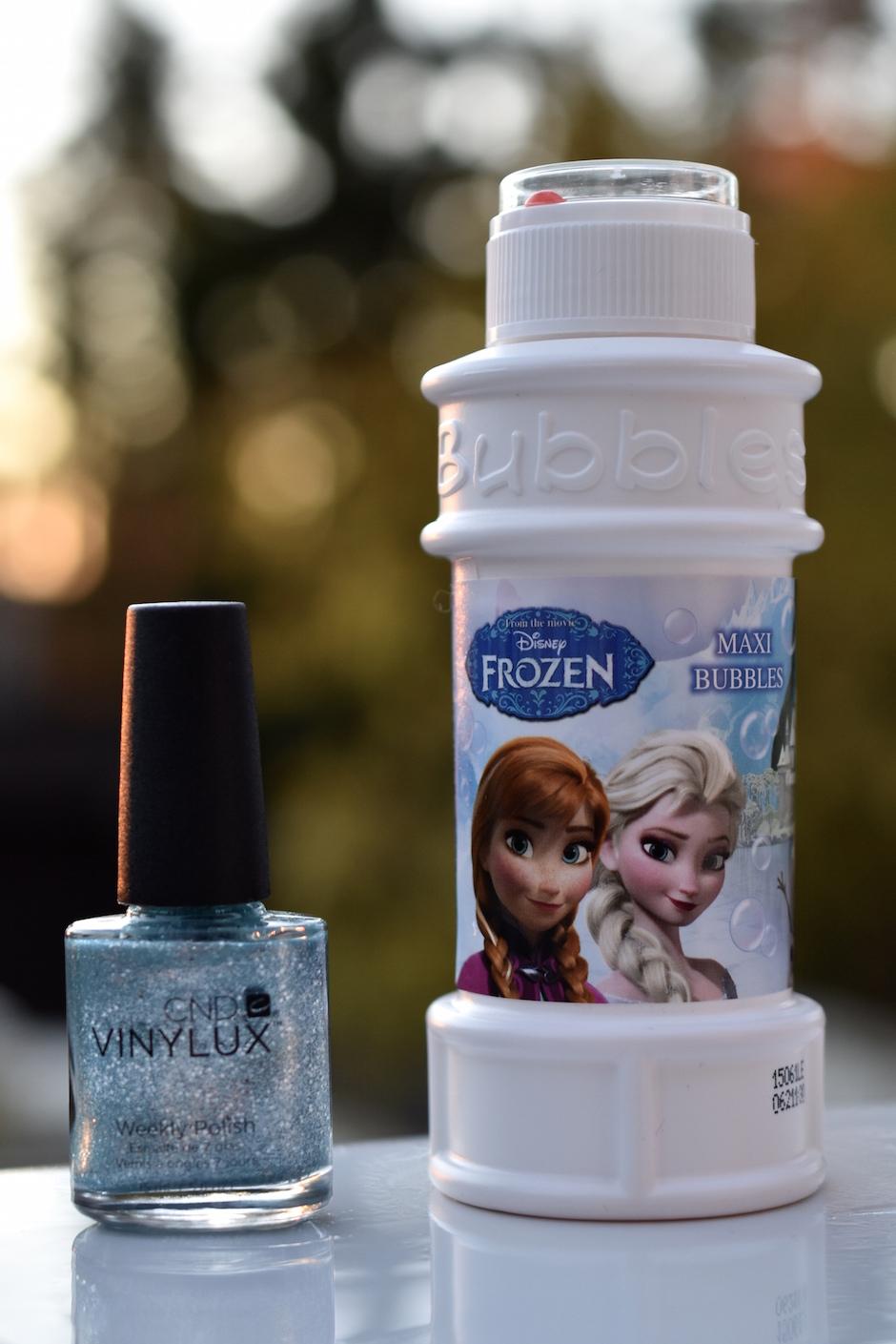 CND Vinylux kynsilakka Frozen kynnet DSC_0360