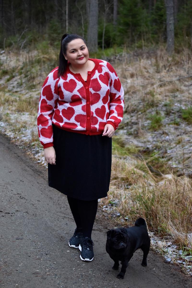 Heart of Gold Ivana Helsinki sydanneule punainen DSC_0397