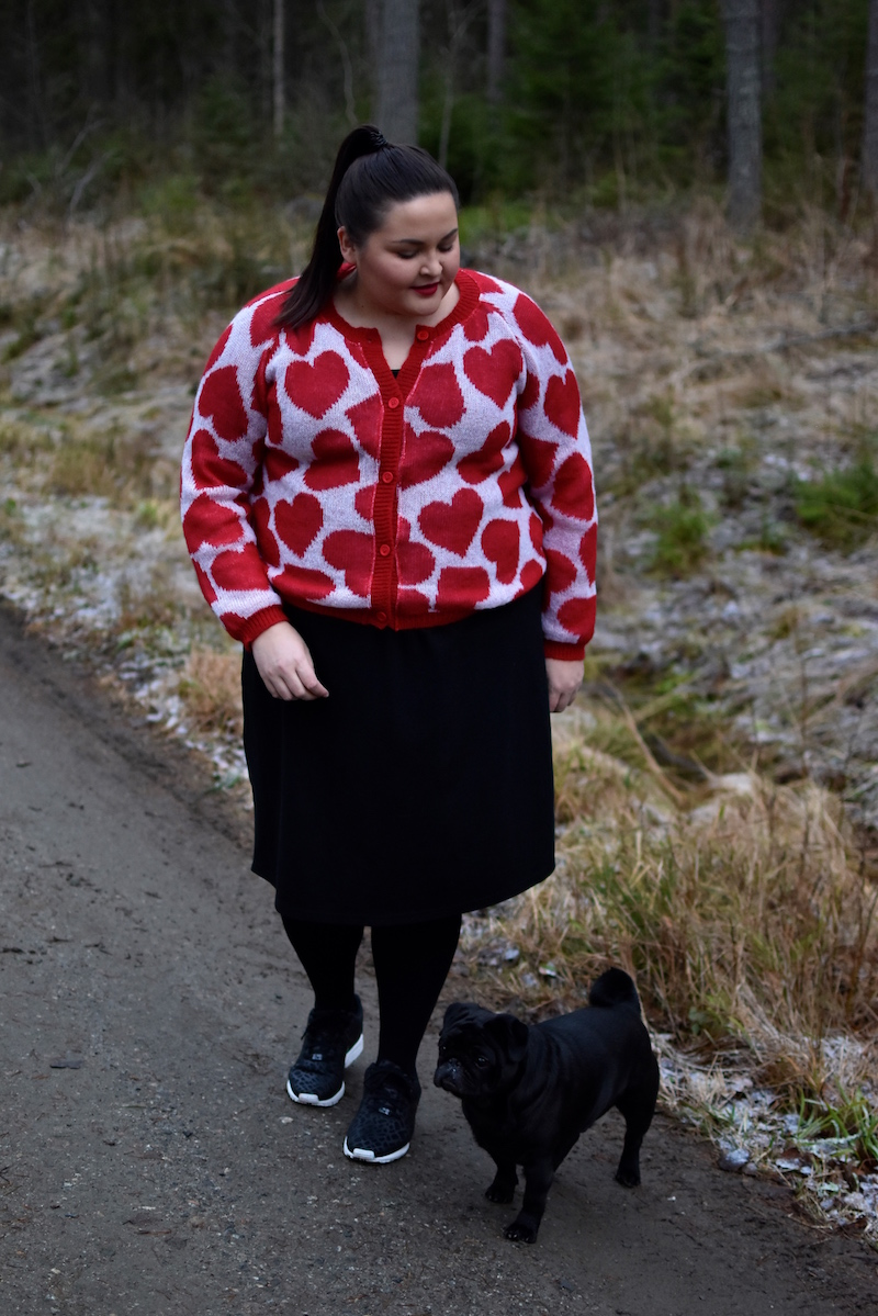 Heart of Gold Ivana Helsinki sydanneule punainen DSC_0402