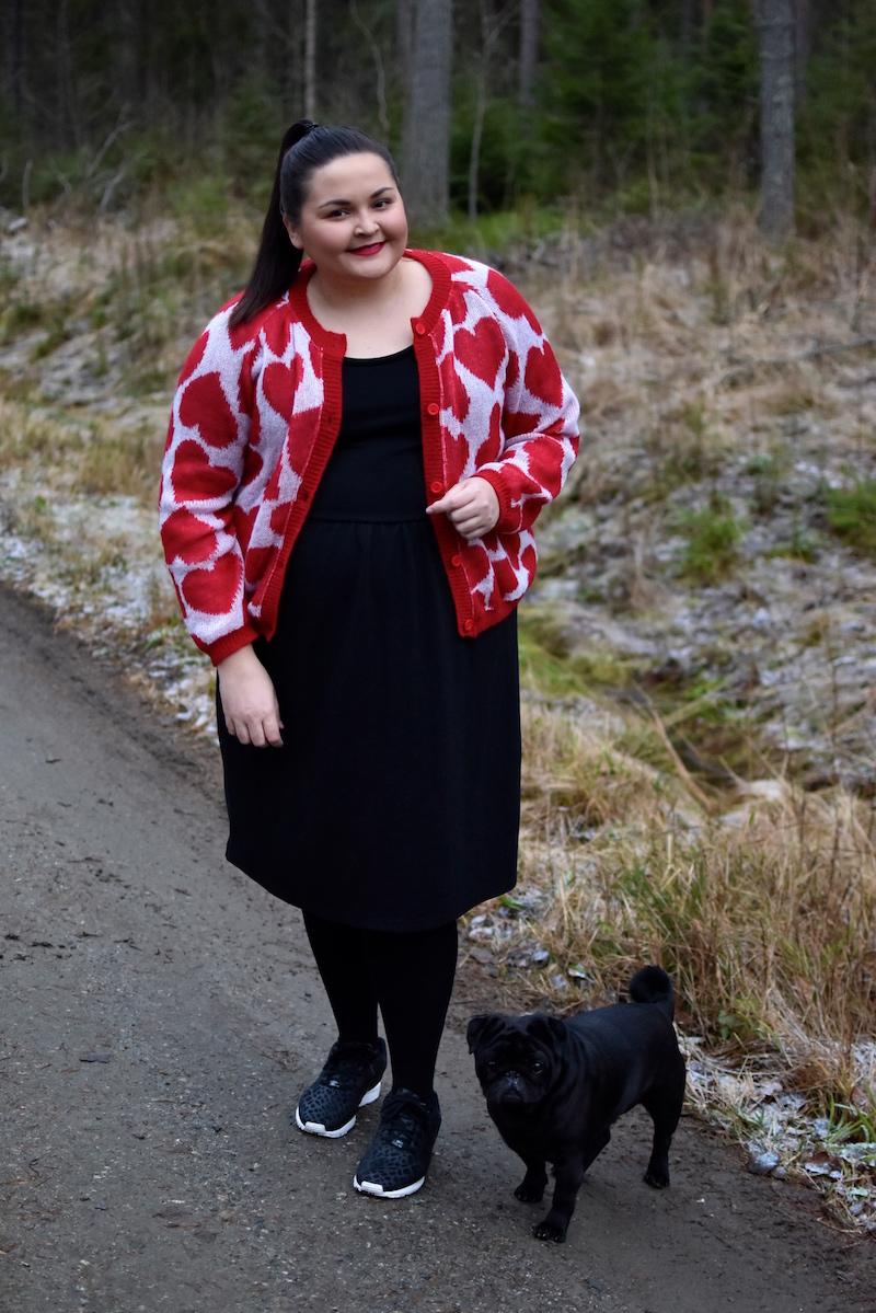 Heart of Gold Ivana Helsinki sydanneule punainen DSC_0426