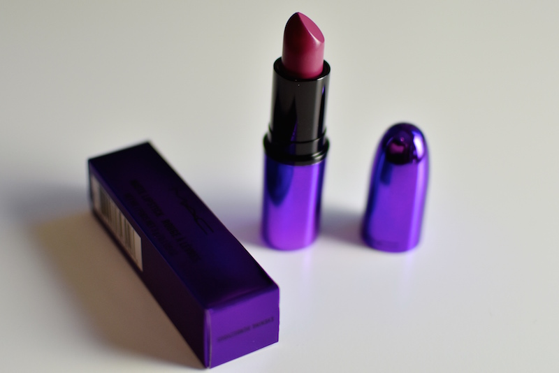 MAC huulipuna ja siveltimet DSC_0154
