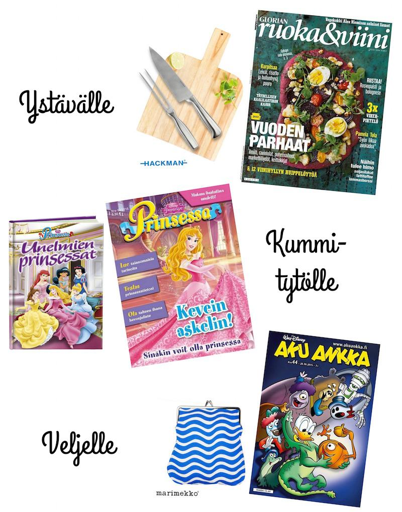 Sanoma Magazines joulutarjous 2015