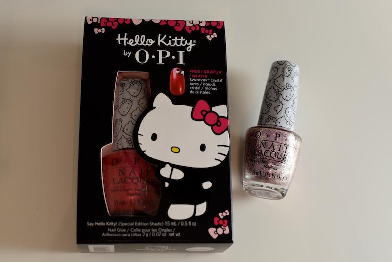 OPI Hello Kitty kynsilakka kokoelma DSC_0102