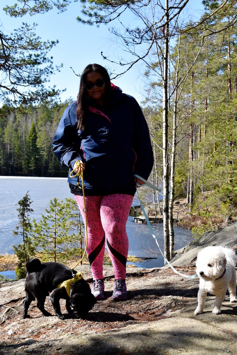 Nuuksiossa koiran kanssa DSC_0632