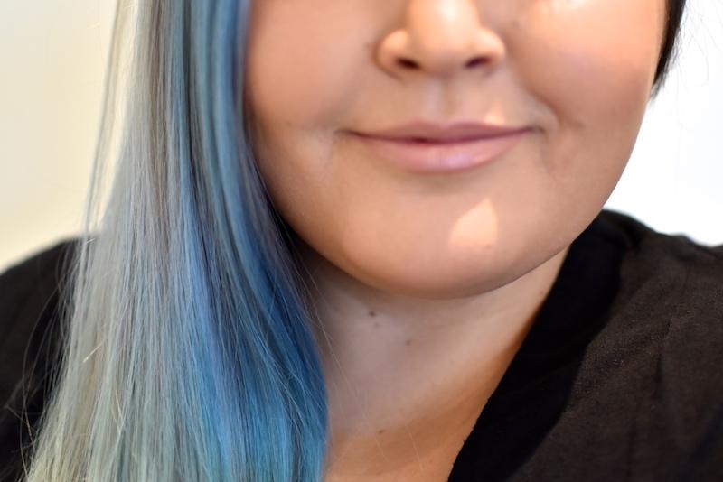 Colorista washout bluehair siniset hiukset DSC_0021