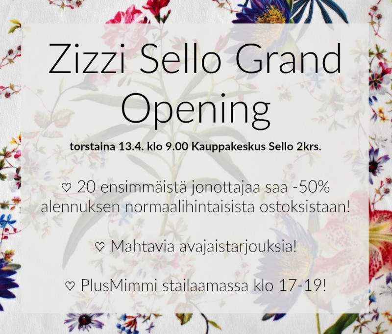 Zizzi Sello Grand Opening